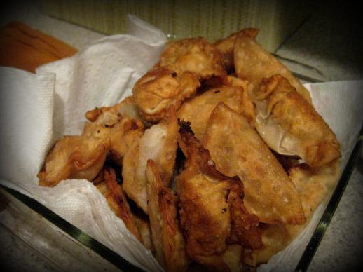 Deep Fried Dumplings
