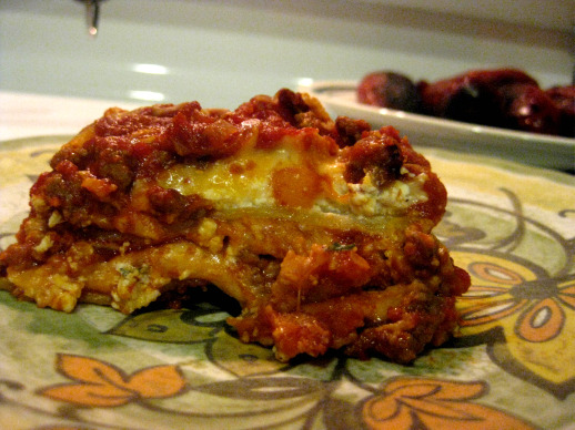 my first lasagna!