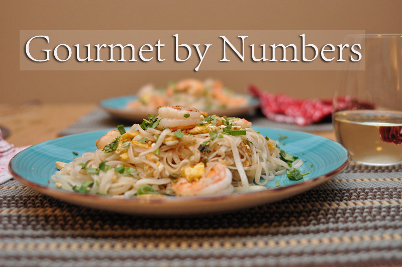 Gourmet by Numbers and a Giveaway!