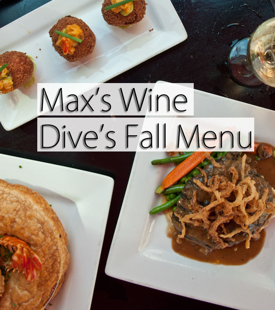 Max's Wine Dive's Fall Menu