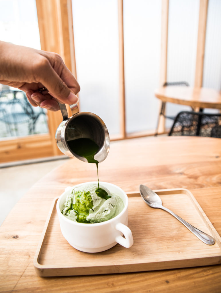 Greater Goods Matcha Affogotto