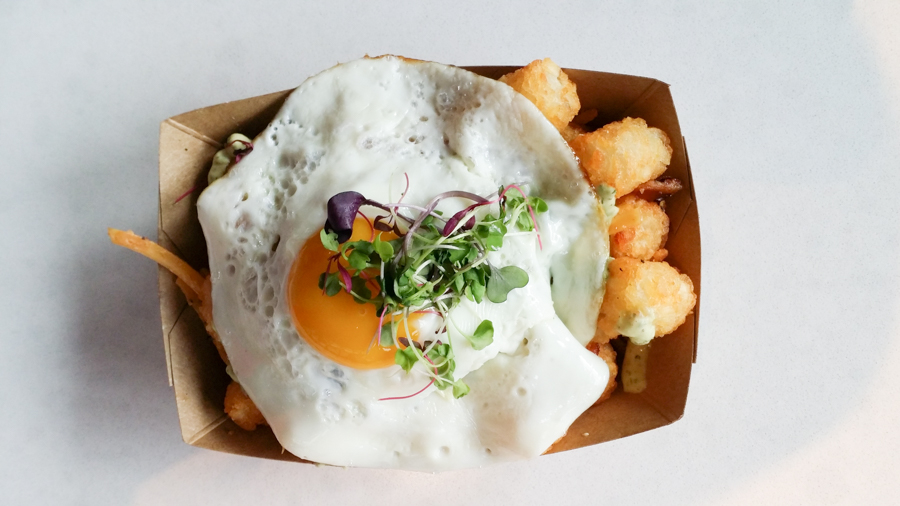Restaurants in Austin for Tater Tots// Velvet Taco's Tots