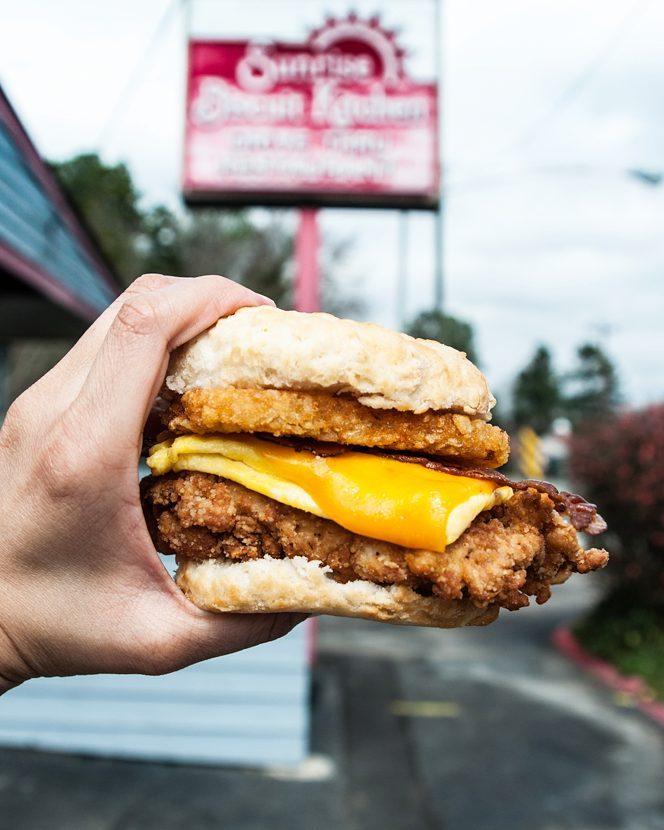 Best Fried Chicken Sandwiches in the Triangle: Sunrise Biscuit Kitchen