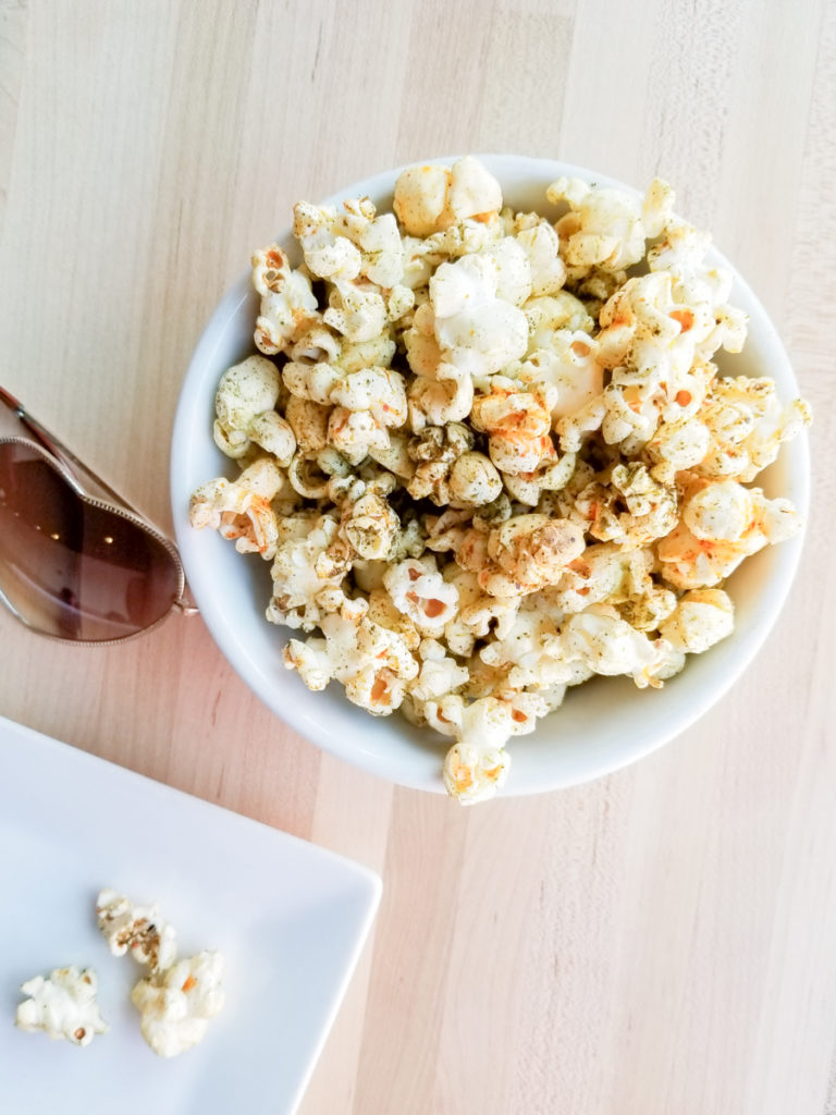 Japanese Italian cuisine in Raleigh / Popcorn by Papa Shogun - Blogged by Linda Eats World