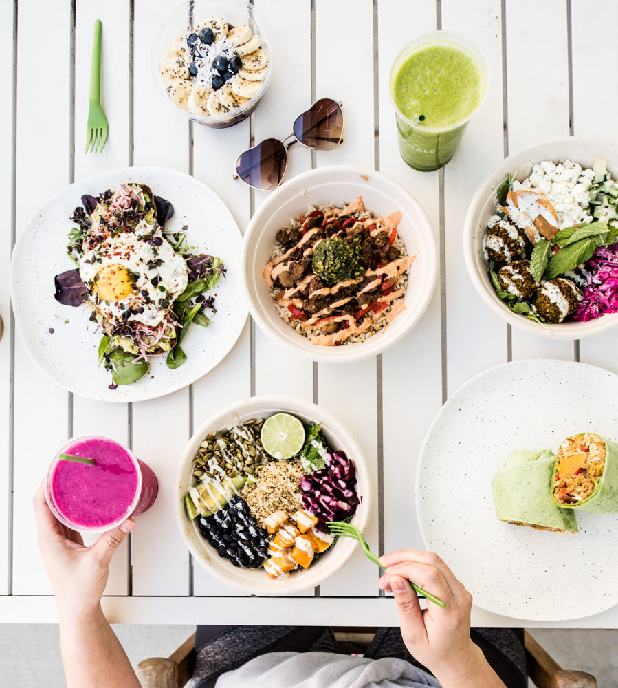 healthy bowls in the Triangle - Happy and Hale