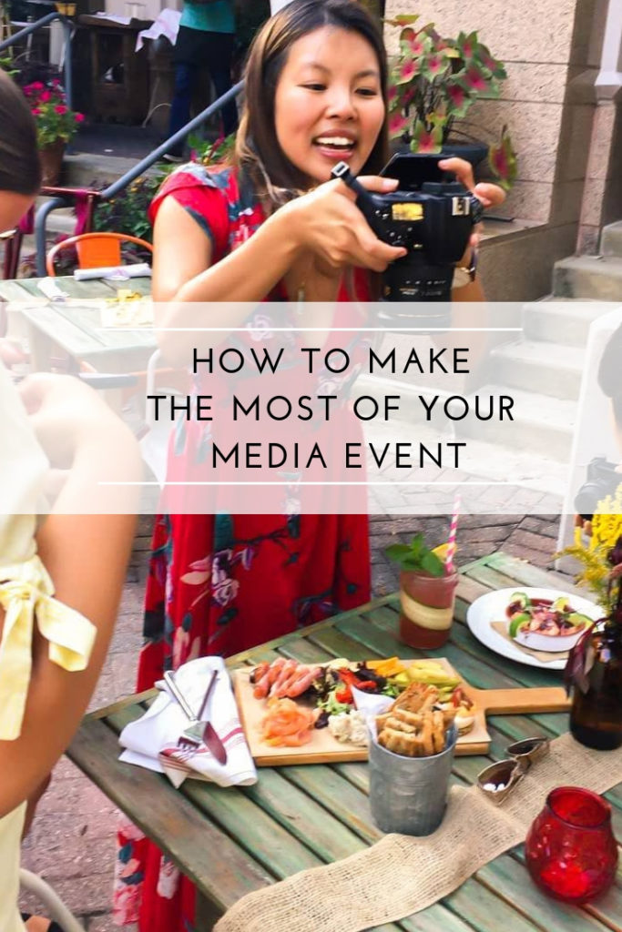 How to Make the Most of Your Media Event