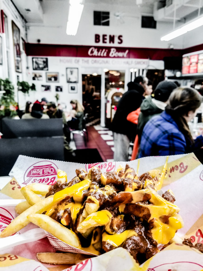 Restaurants in Washington DC - Ben's Chili Bowl