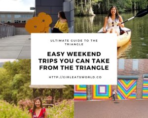 Weekend Trips from the Triangle