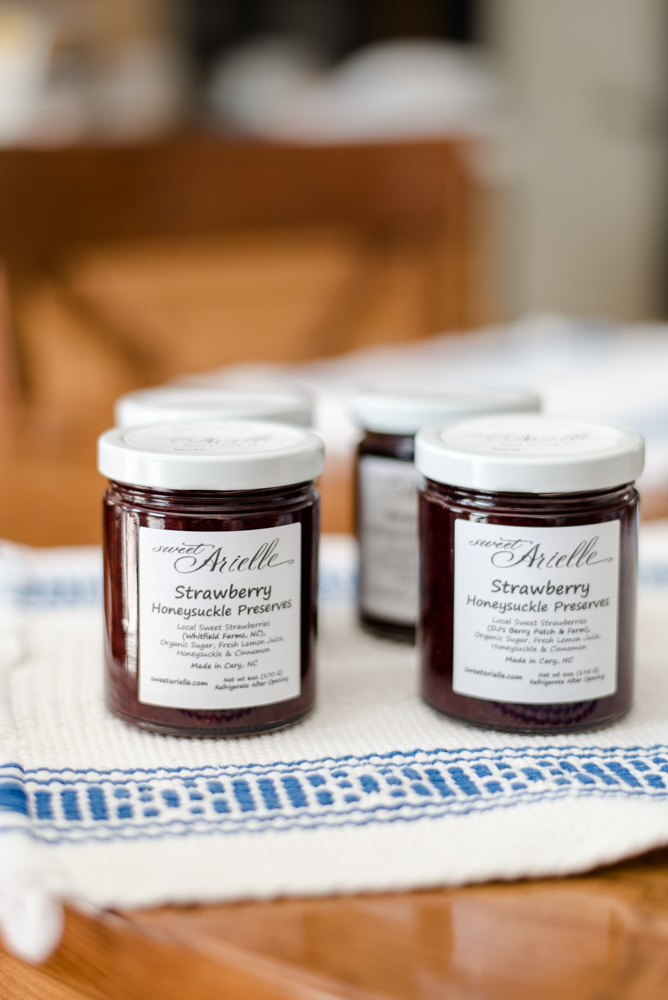 Sweet Arielle Bakery Strawberry Jam