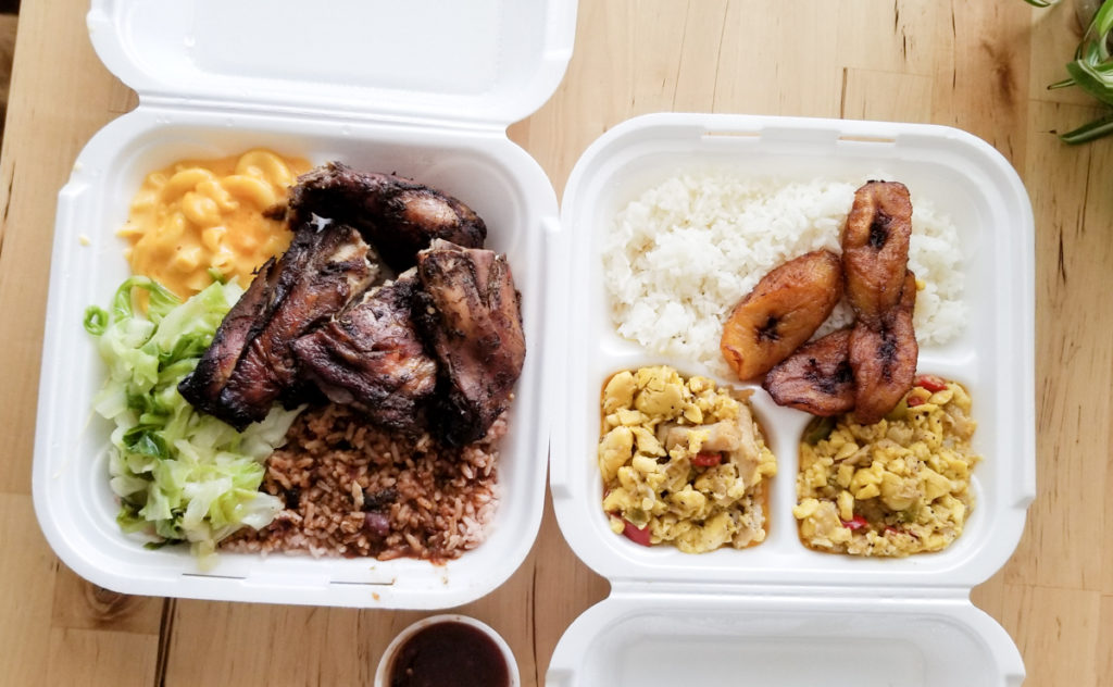 Jamaican Food in the Triangle, Mum's