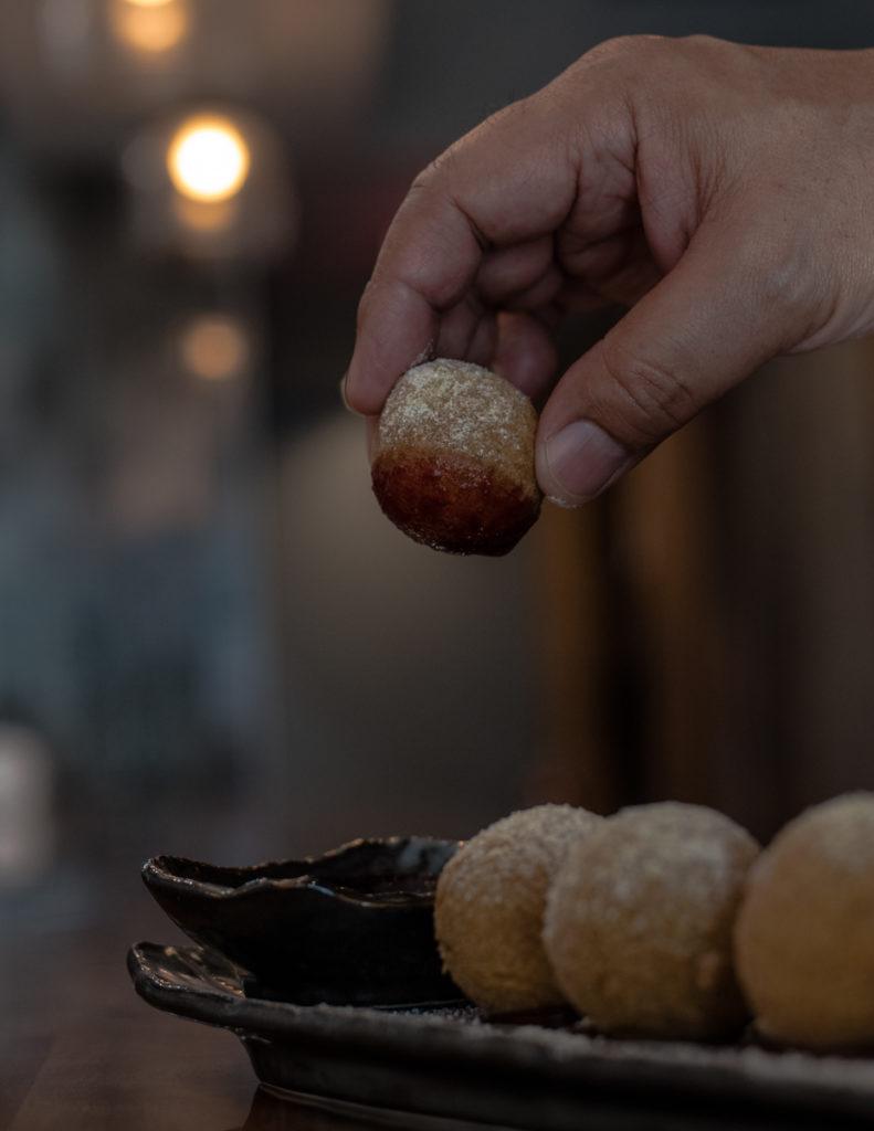 Matcha donuts from Tonbo
