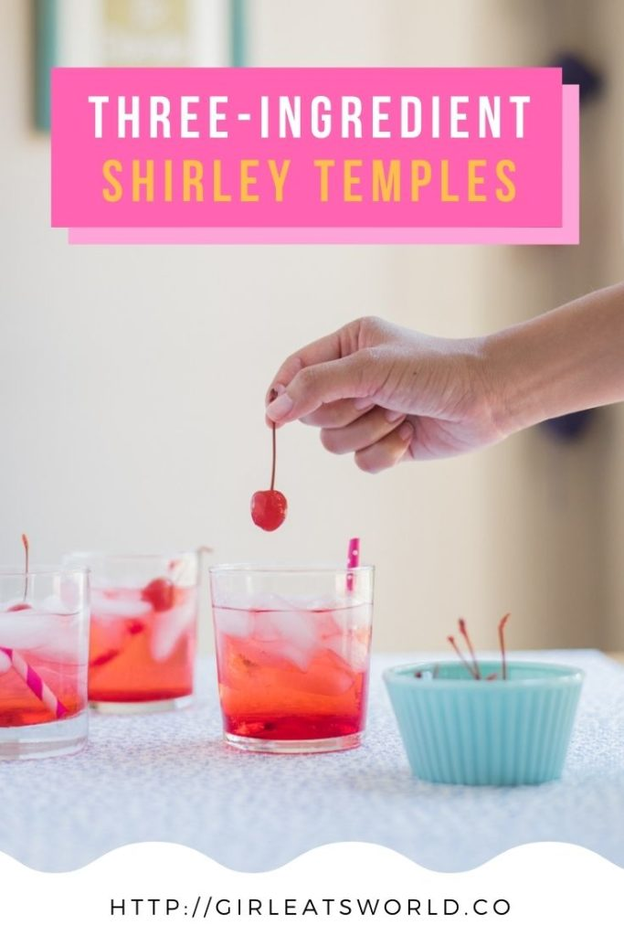How to Make Sweet Shirley Temples