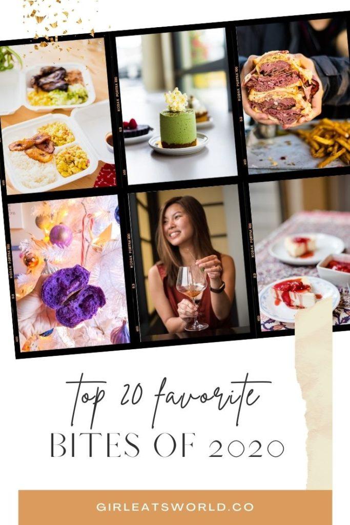 20 of My Favorite Bites in 2020