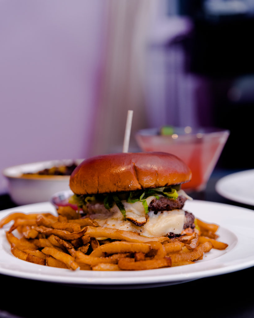 Burger // Staycation at The Mayton in Cary