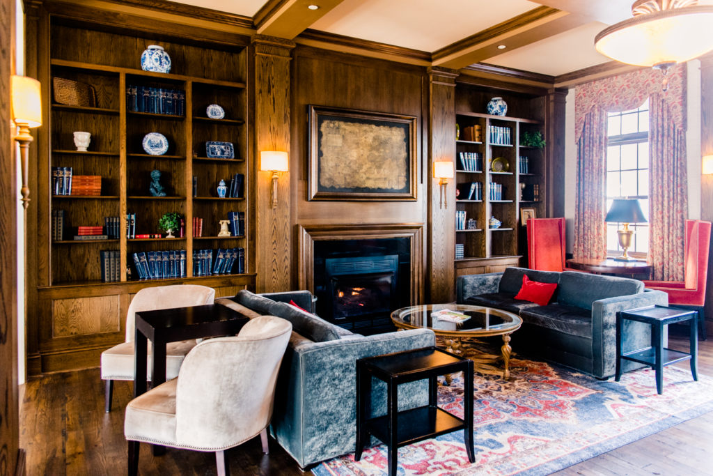 Staycation at The Mayton in Cary // the library