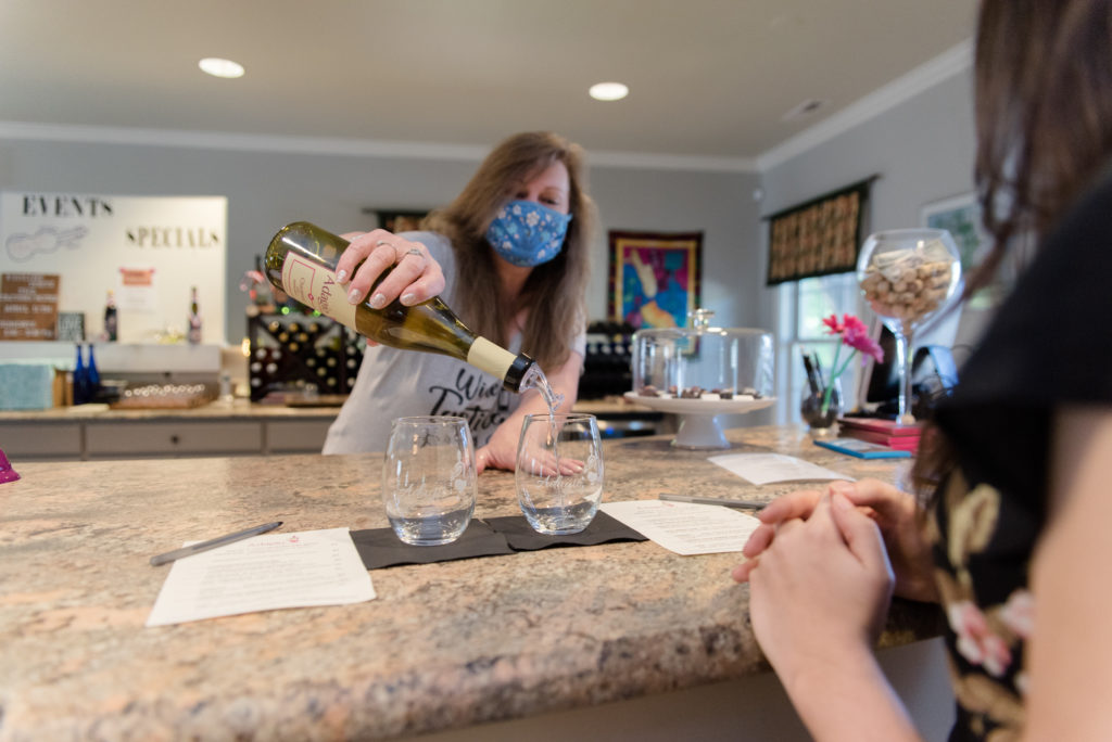 North Carolina wineries: Adagio Vineyards