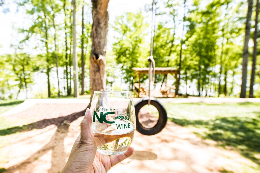 North Carolina wineries: Old Homeplace Vineyard